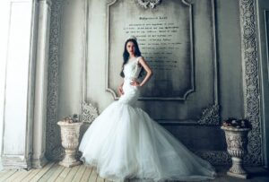 Eye-catching bridal gowns