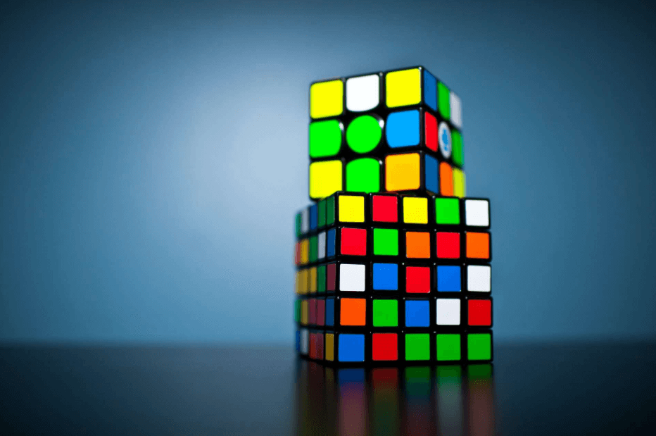 Game of Rubiks cube